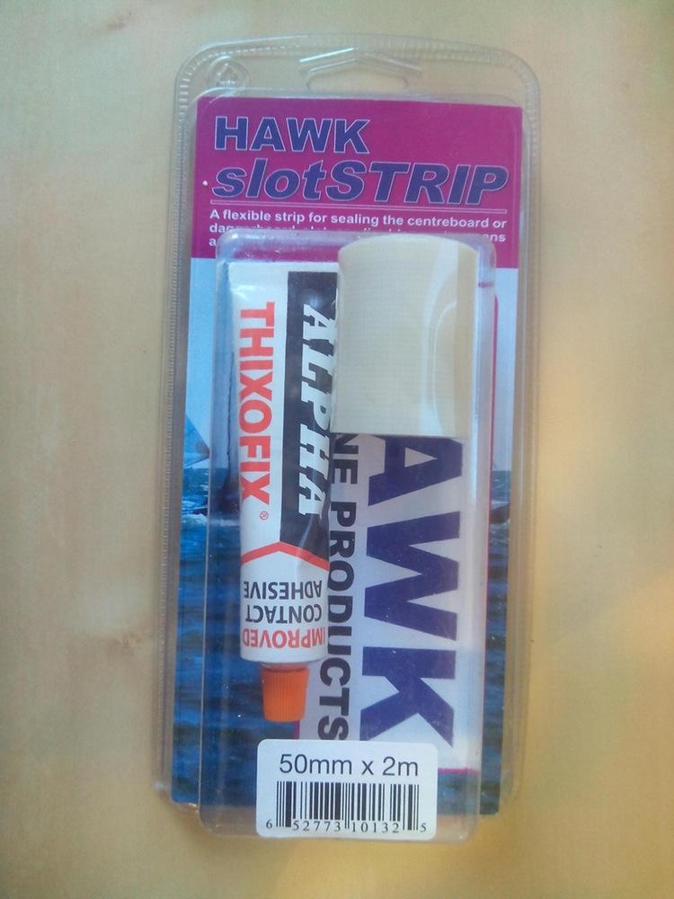 Slot strip hawk