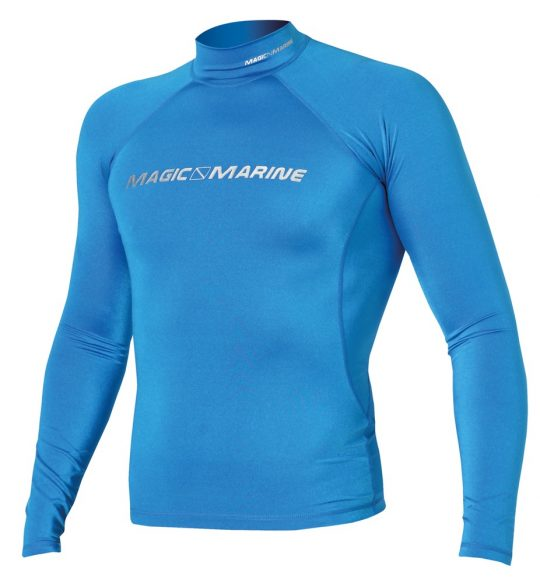 MAGIC MARINE CUBE RASH VEST L/S